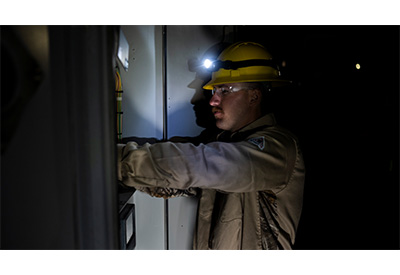 Utility Safety Supplying Headlamps and PPE